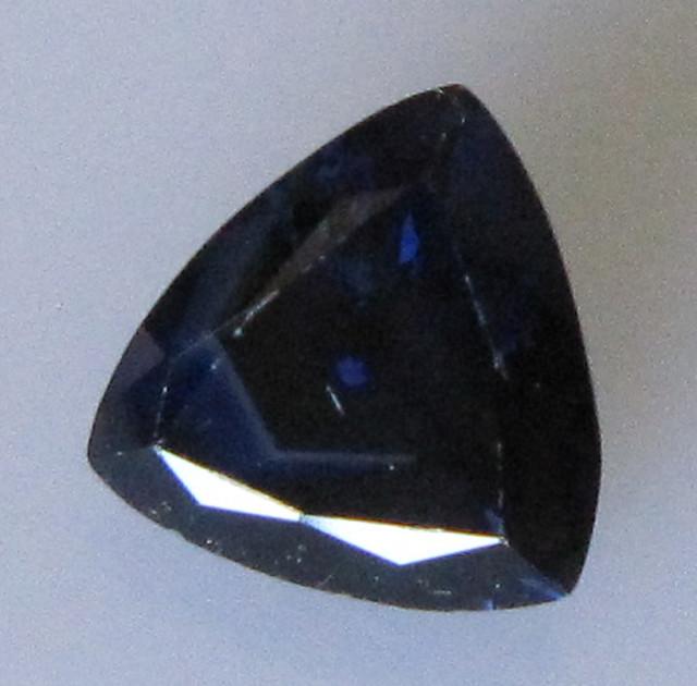 1.25cts Australian Trillion Shape Blue Sapphire