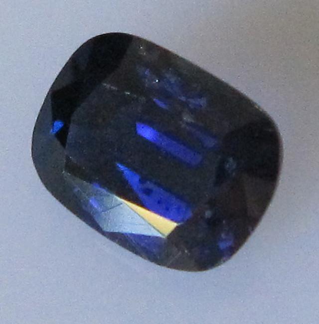 Australian Cushion Shape Blue Sapphire, 1.23cts