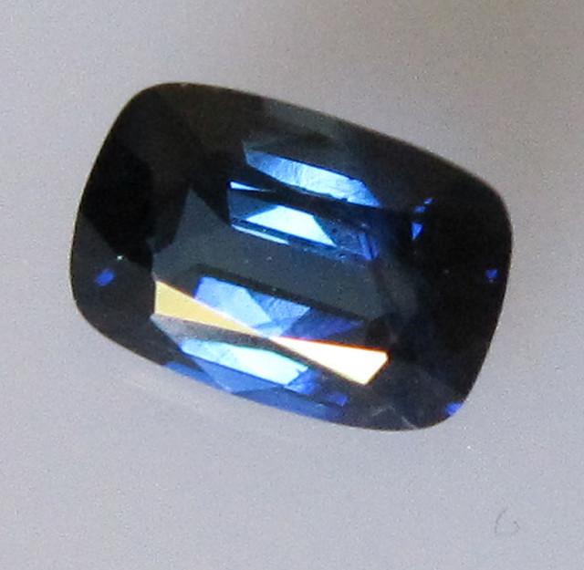 0.79cts Australian Cushion Shape Blue Sapphire