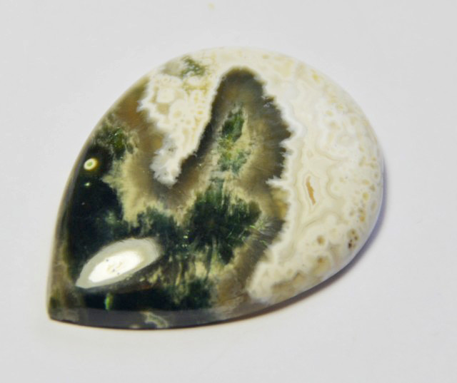 NEW ARRIVAL AAA Ocean Jasper  32mm 28.5ct