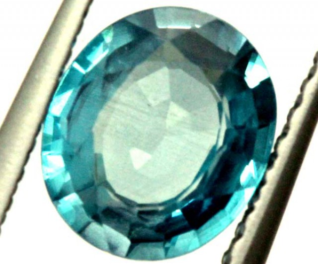 BLUE ZIRCON FACETED STONE 1.10 CTS  PG-1055