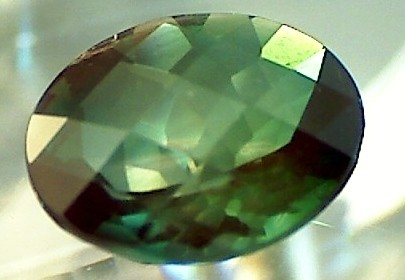 CERT 2.89 ct Labradorite - Andesine Green Oval (A529)