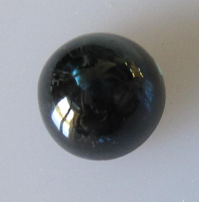 2.51cts Australian Round Cabochon Blue Sapphire