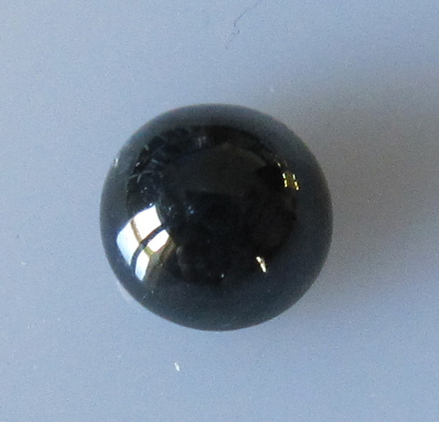 1.39cts Australian Round Cabochon Blue Sapphire