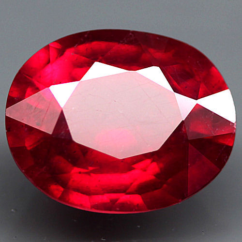 3.73 Carat VS Fiery Cherry Ruby