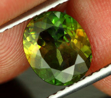 2.15 CTS VS CERTIFIED GREEN SPHENE [SPG10]