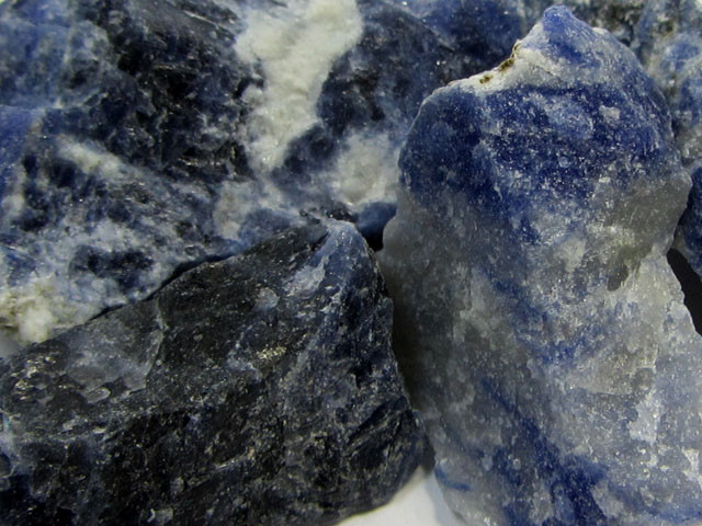 14CTS SODALITE ROUGH 4 PIECES TW 1292