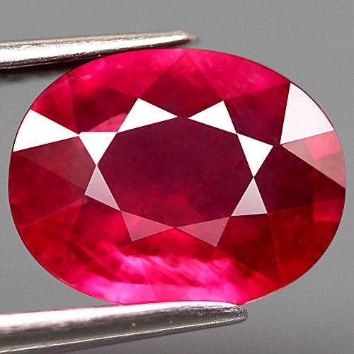 2.27 Carat Pinkish Red VS Ruby - Beautiful