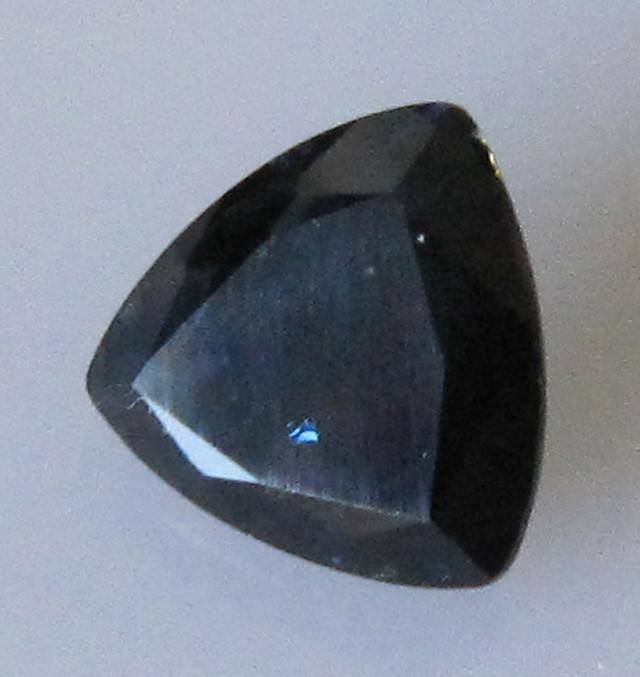 1.41cts Australian Trillion Shape Blue Sapphire