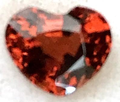 1.53 Ct CERTIFIED Brownish-Orange Spessarite Garnet  A540 - F14