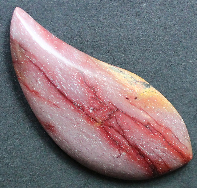28.75 CTS MOOKAITE AUSTRALIAN JASPER FROM OLD COLLECTION