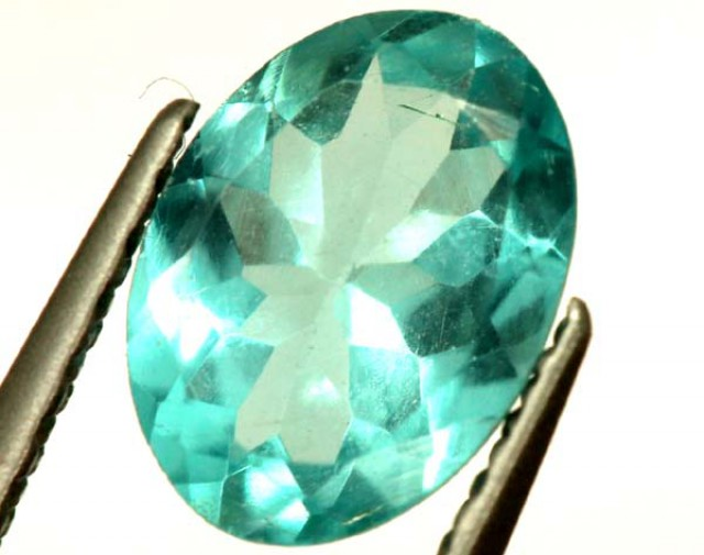 BLUE ZIRCON FACETED STONE 2 CTS  PG-1453