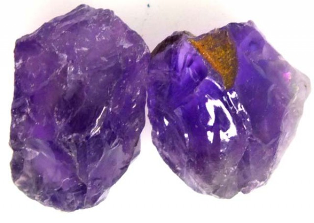 19 CTS AMETHYST NATURAL ROUGH  LG-875