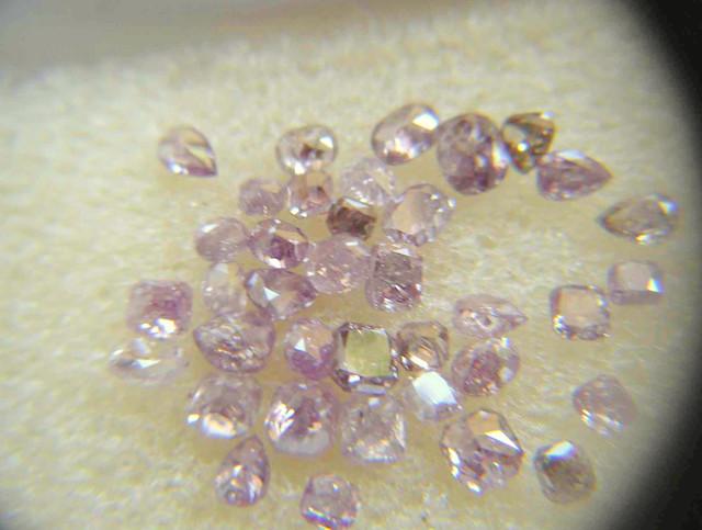NATURAL-ARGYLE -PINK DIAMOND-- 5CTWLOT -0.05-0.15CTWSIZE-PCS