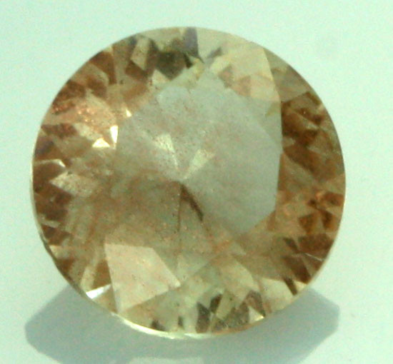 0.57 CTS CERTIFIED OREGON SUNSTONE WITH COPPER [LBO21]