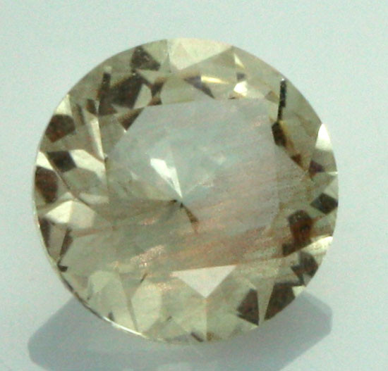 0.63 CTS CERTIFIED OREGON SUNSTONE WITH COPPER [LBO27]