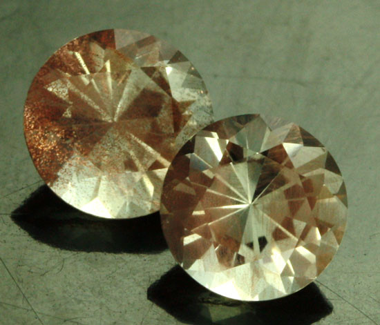 CERTIFIED OREGON SUNSTONE PAIR [LBO42]