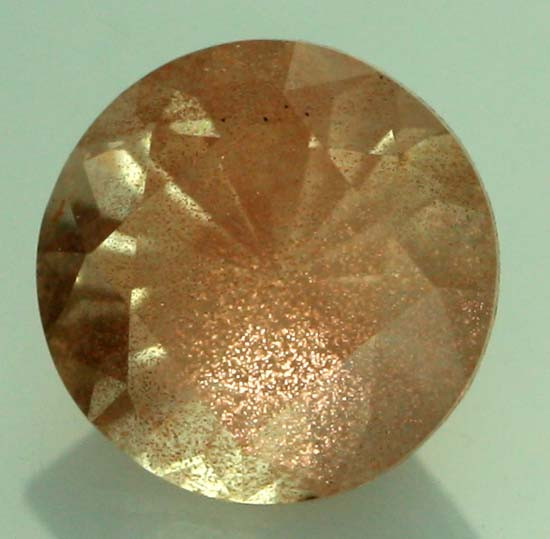 0.76 CTS CERTIFIED OREGON SUNSTONE WITH COPPER [LBO49]