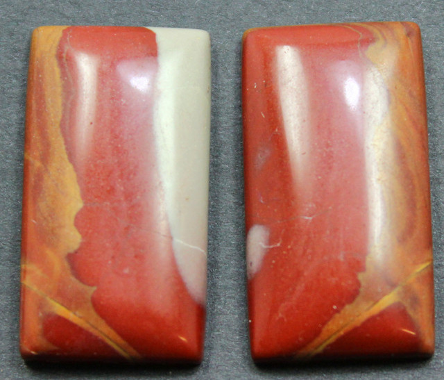 32.35 CTS NOREENA JASPER PAIR PERFECT FOR EARRINGS