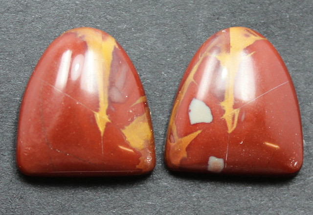 14.05 CTS NOREENA JASPER PAIR PERFECT FOR EARRINGS