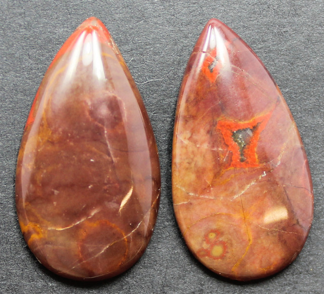 20.60 CTS NOREENA JASPER PAIR PERFECT FOR EARRINGS