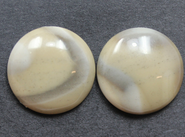19.70 CTS IMPERIAL JASPER PAIR PERFECT FOR EARRINGS