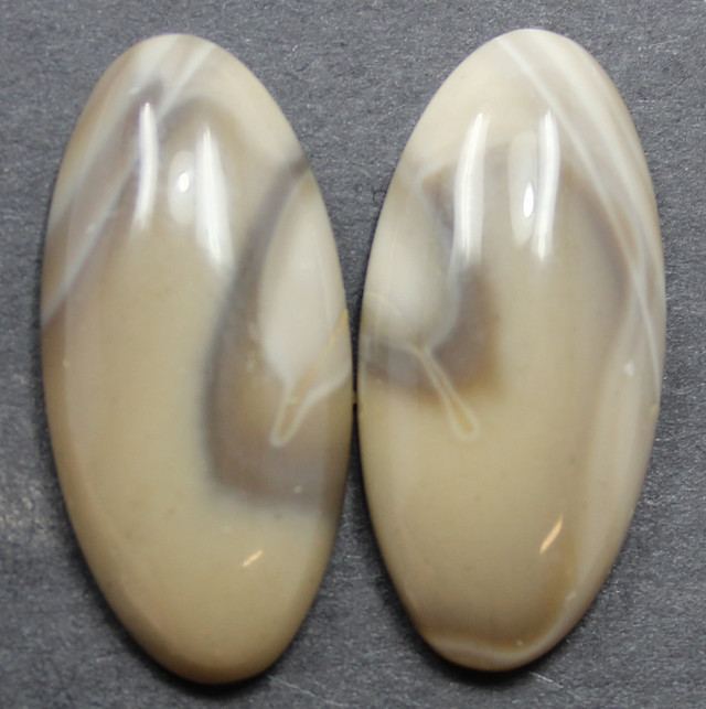 26.90 CTS IMPERIAL JASPER PAIR PERFECT FOR EARRINGS