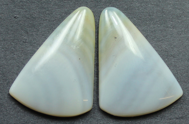17.00 CTS WYOMING AGATE PAIR PERFECT FOR EARRINGS