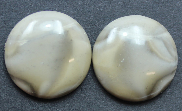 24.25 CTS IMPERIAL JASPER PAIR PERFECT FOR EARRINGS