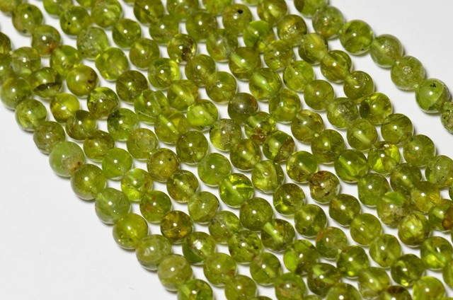 ARIZONA  PERIDOT round Beads 5mm 14