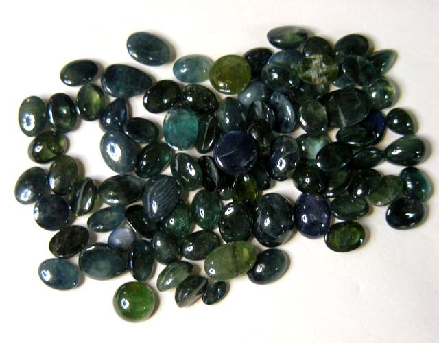 100 Cts Jewelers N Designers Parcel Cab Sapphires