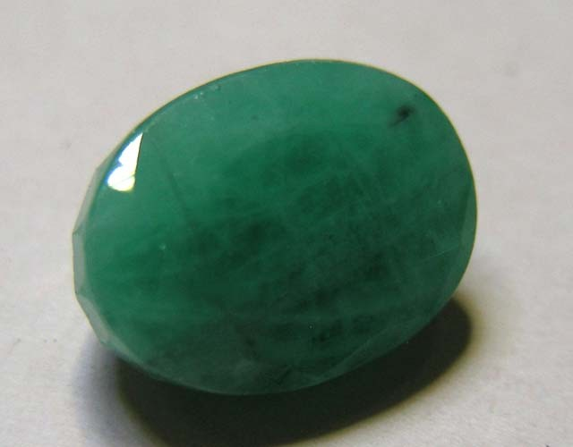 6.26 CTS OVAL FACTED EMERALD  11349