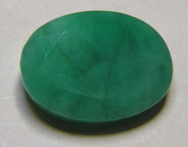 5.83 CTS OVAL FACTED EMERALD  11351