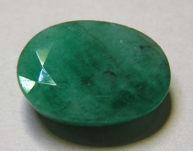 5.17 CTS OVAL FACTED EMERALD  11352