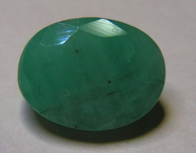 5.41 CTS OVAL FACTED EMERALD  11367