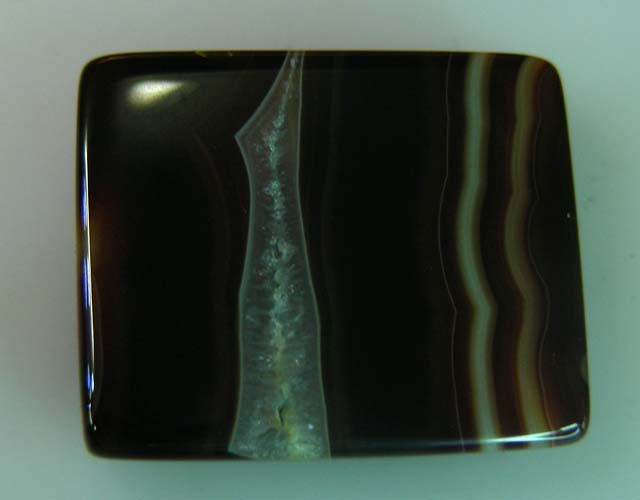 33 CTS HAND PICKED RECT  BANDED AGATE   11 537