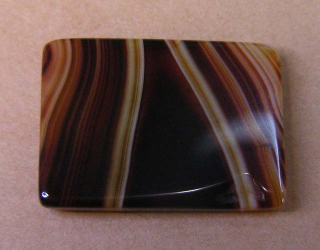 16 CTS HAND PICKED RECT  BANDED AGATE   11 541