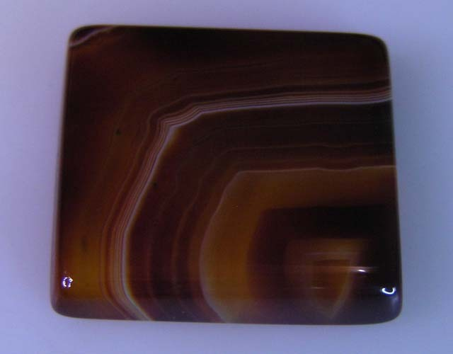 20 CTS HAND PICKED RECT  BANDED AGATE   11 544