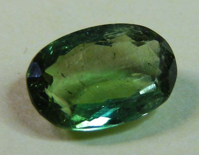 2.56 CTS  FACETED TOURMALINE GEMSTONE  11 649