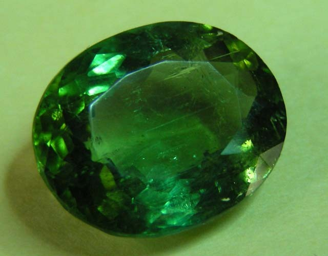 2.42 CTS  FACETED TOURMALINE GEMSTONE  11 653