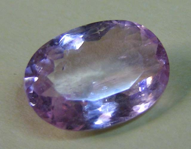 3.66 CTS  FACETED ROSY PINK TOURMALINE GEMSTONE  11 662