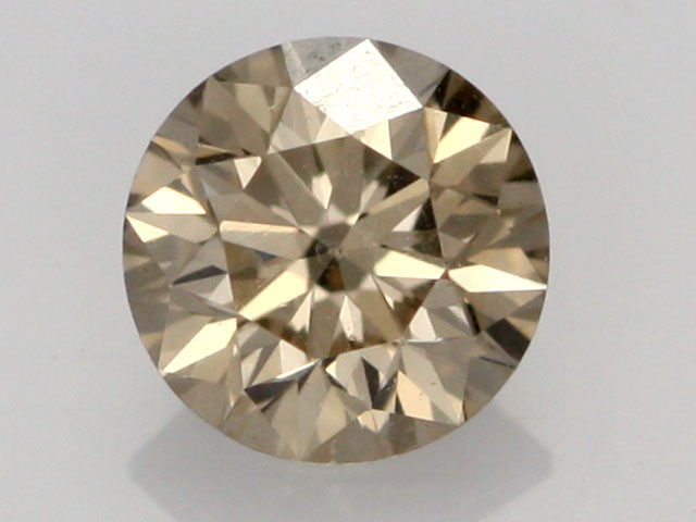 0.38 CTS FINE CHOCOLATE DIAMOND VS2  BR 0006