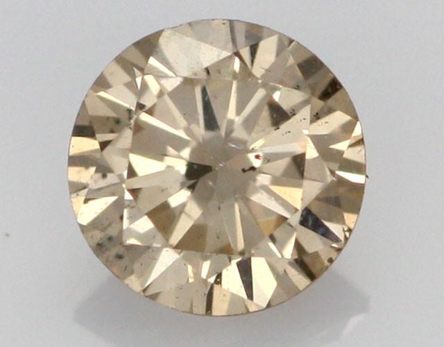 0.40 CTS FINE BROWN DIAMOND SI1  BR 0004