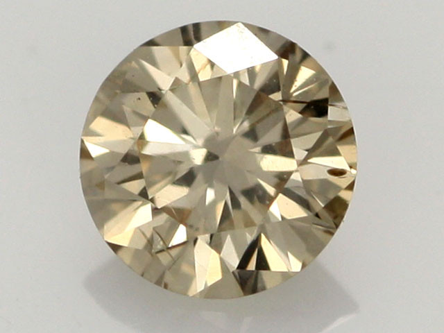 0.39 CTS FINE BROWN DIAMOND SI1  BR 0008