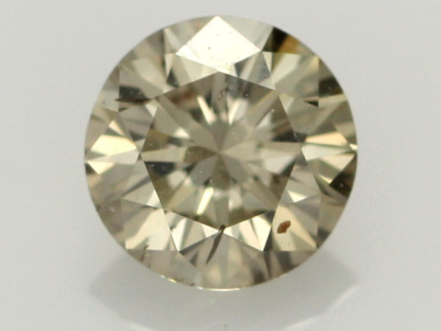 0.40 CTS FINE BROWN DIAMOND SI1  BR 0009