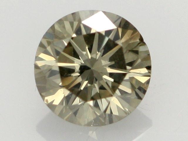0.43 CTS FINE CHOCOLATE DIAMOND SI1  BR 0010