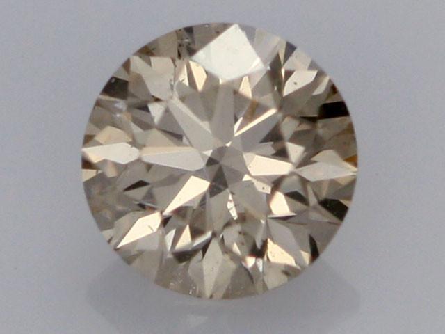 0.39 CTS FINE BROWN DIAMOND SI1  BR 0019