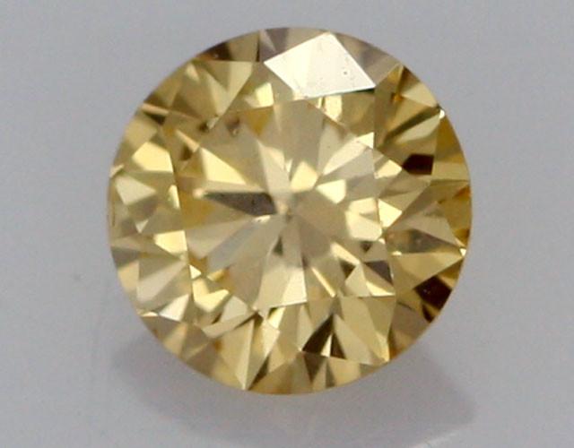 0.21 CTS FINE RUSSIAN YELLOW  DIAMOND VS2  DMY 0008 FREE SHIPPING