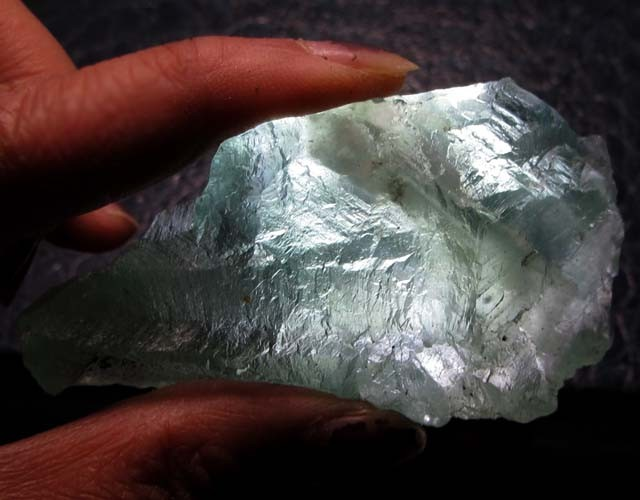360 CTS NATURAL  FLUORITE ROUGH  MS 1442