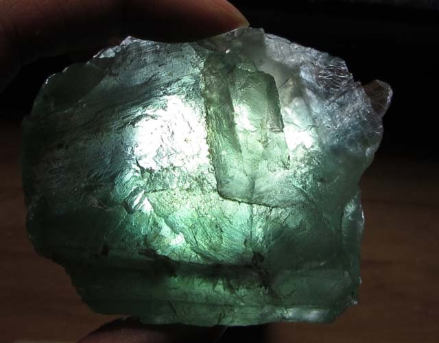 720 CTS NATURAL  FLUORITE ROUGH  MS 1449